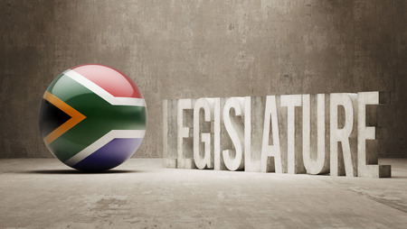 prosecution: South Africa  Legislature Concept