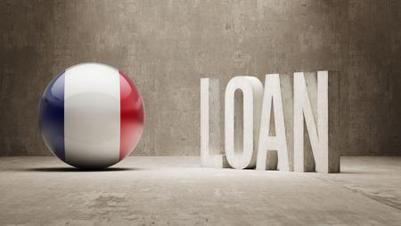 France  Loan Concept