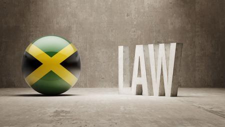 foreclosure: Jamaica   Law Concept
