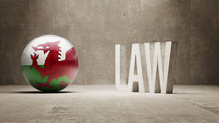 foreclosure: Wales  Law Concept
