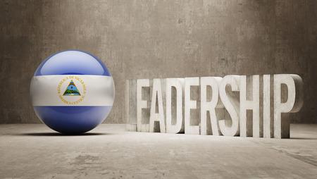 Nicaragua  Leadership Concept