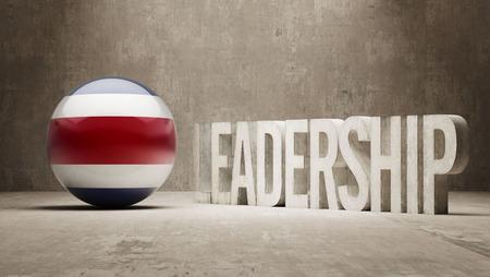 Costa Rica  Leadership Concept photo