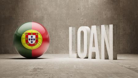 Portugal  Loan Concept