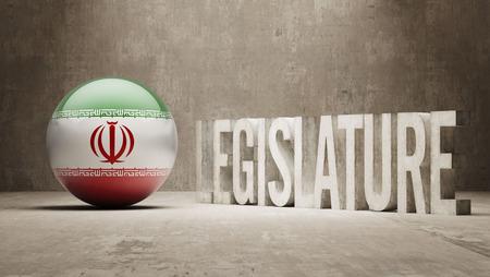legislature: Iran Legislature Concept