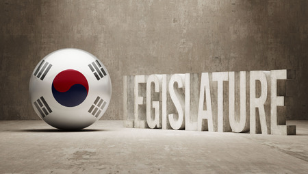 legislature: South Korea  Legislature Concept