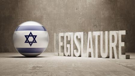 legislature: Israel Legislature Concept