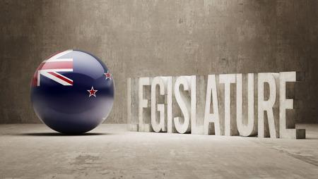 legislature: New Zealand  Legislature Concept