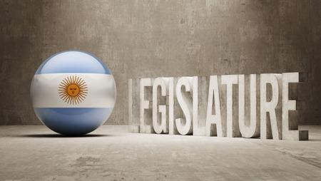 legislature: Argentina  Legislature Concept