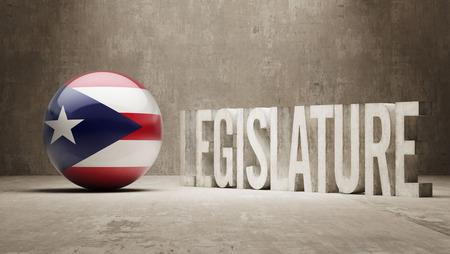 foreclosure: Puerto Rico  Legislature Concept