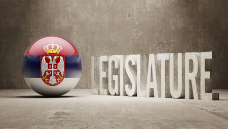 legislature: Serbia  Legislature Concept Stock Photo