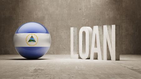 Nicaragua  Loan Concept photo