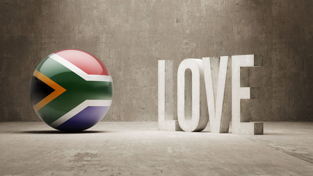 South Africa   Love Concept photo
