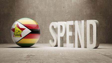 zimbabwe: Zimbabwe Marketing Concept Stock Photo