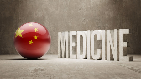 health care funding: China  Medicine Concept