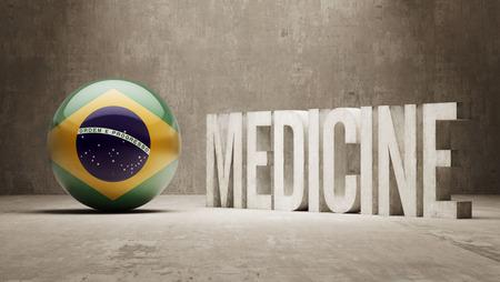 brasilia: Brazil  Medicine Concept Stock Photo