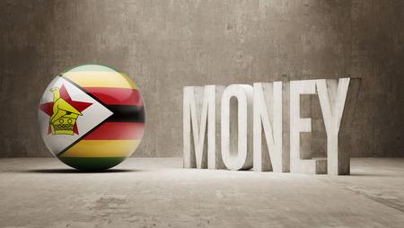 zimbabwe: Zimbabwe Money Concept Stock Photo