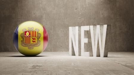 renewed: Andorra New Concept Stock Photo