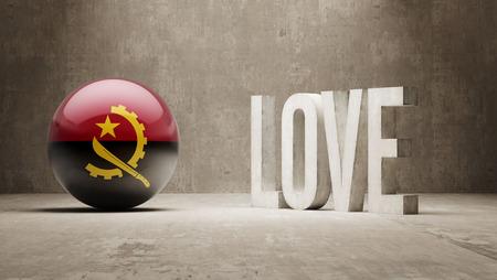 angola: Angola  Love Concept