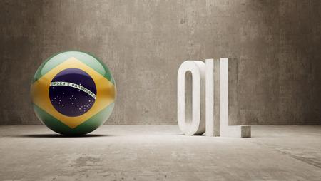 Brazil Oil Concept photo