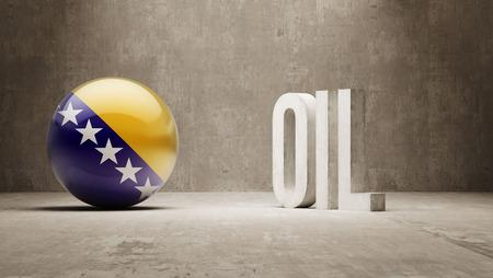 bosnia and herzegovina: Bosnia and Herzegovina  Oil Concept