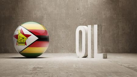 zimbabwe: Zimbabwe   Oil Concept Stock Photo