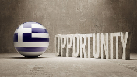 opportunity concept: Greece  Opportunity Concept