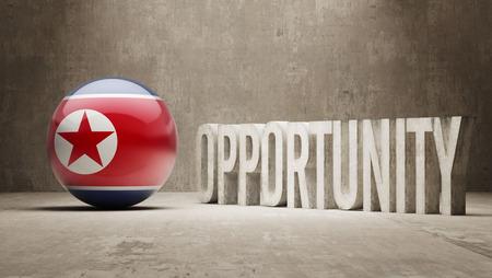 north korea: North Korea Opportunity Concept