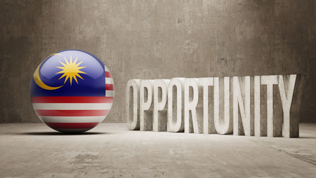 opportunity concept: Malaysia Opportunity Concept