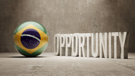opportunity concept: Brazil Opportunity Concept