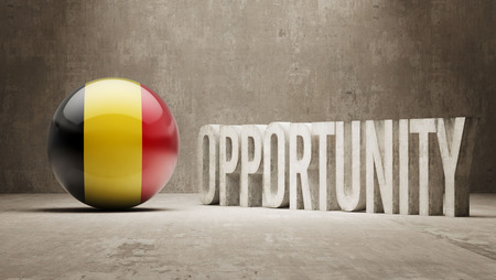 opportunity concept: Belgium  Opportunity Concept