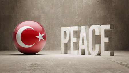 pacifist: Turkey Peace Concept