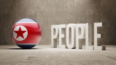north korea: North Korea  People Concept Stock Photo