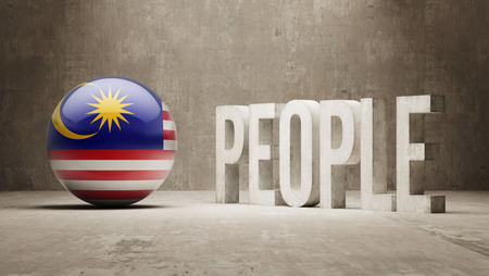 Malaysia People Concept