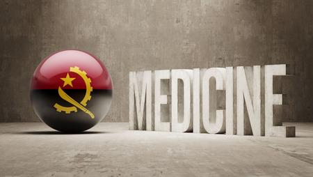 angola: Angola  Medicine Concept