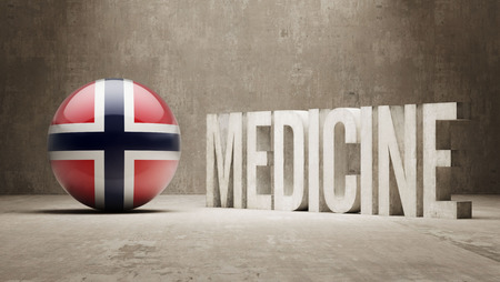 health care funding: Norway Medicine Concept Stock Photo