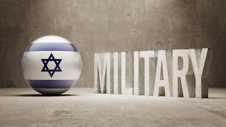 major force: Israel Military Concept Stock Photo