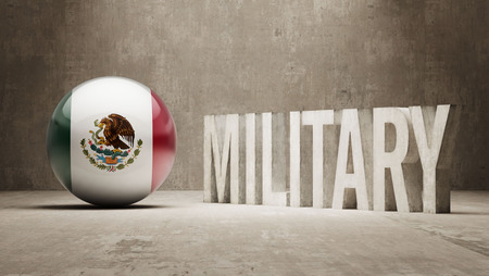major force: Mexico  Military Concept Stock Photo