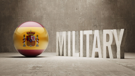 major force: Spain Military Concept Stock Photo