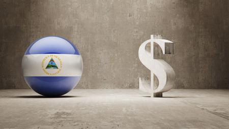 Nicaragua  Money Sign Concept photo