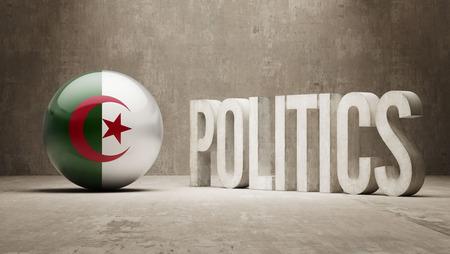 algeria: Algeria Politics Concept Stock Photo