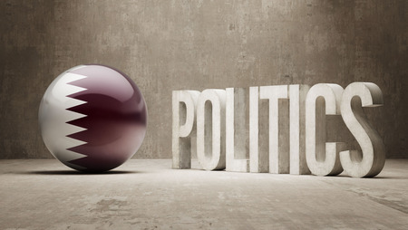 Qatar Politics Concept photo