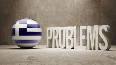 inaccurate: Greece   Problems Concept