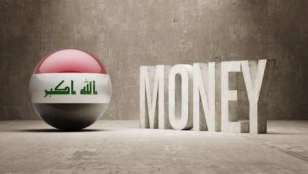 iraq money: Iraq  Money Concept Stock Photo
