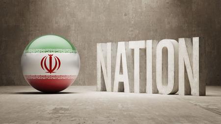 nation: Iran Nation Concept
