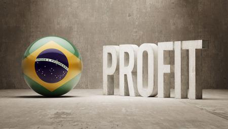 Brazil Profit Concept