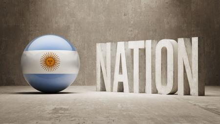 Argentina  Nation Concept