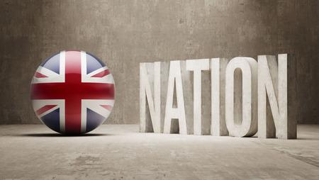 nation: United Kingdom  Nation Concept