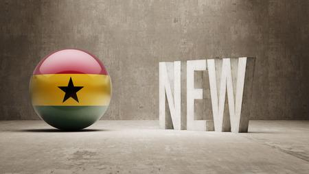 renewed: Ghana New Concept Stock Photo