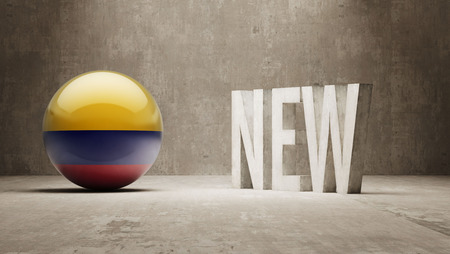 renewed: Colombia New Concept Stock Photo