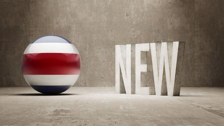 costa rica: Costa Rica  New Concept